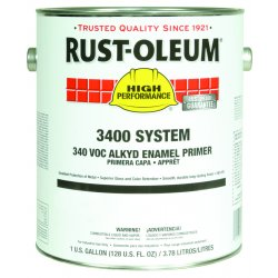 Rust-Oleum - 3469402 - High Performance 3400 System Alkyd Enamels (Case of 2)