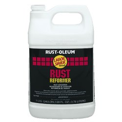 Rust-Oleum - 3575402 - Interior/Exterior Rust Converter with 590 to 1175 sq. ft./gal. Coverage Clear, 1 gal.