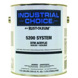 Rust-Oleum - 5244402 - High Gloss Safety Yellow Interior/Exterior Paint, 1 gal.