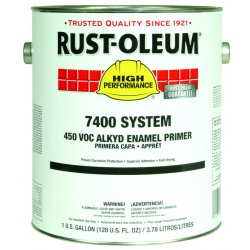 Rust-Oleum - 7086402 - 1 gal. Interior/Exterior Primer Covers 300 to 600 sq. ft./gal., Gray