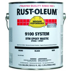 Rust-Oleum - 9179402 - 402 Black High Performance Epoxy Requires 91, Gal