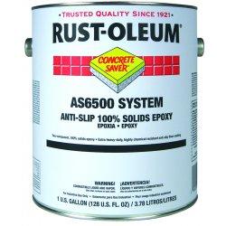 Rust-Oleum - AS6586425 - Gloss Amidoamine Epoxy Anti-Slip Floor Coating, Navy Gray, 1 gal.