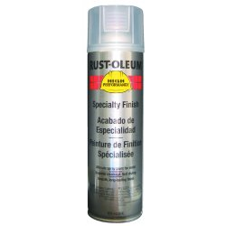 Rust-Oleum - V2102838 - Paint Aerosol Clear Rust-oleum Hard Hat 15 Square Feet Coverage Volatile Organic Compound, Ea