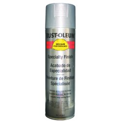 Rust-Oleum - V2115-838 - Paint Aerosol Silver Rust-oleum Hard Hat 15 Square Feet Coverage Volatile Organic Compound, Ea