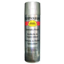 Rust-Oleum - V2119838 - High Performance Rust Preventative Spray Paint in Gloss Stainless Steel for Metal, Steel, 14 oz.