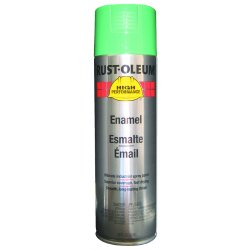 Rust-Oleum - V2133838 - High Performance Rust Preventative Spray Paint in Gloss Safety Green for Metal, Steel, 15 oz.