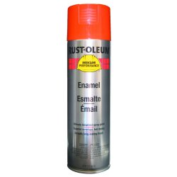 Rust-Oleum - V2156838 - Equipment Orange Rust Preventative Spray Paint, Gloss Finish, 15 oz.