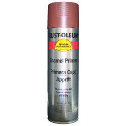 Rust-Oleum - V2169838 - Paint Primer Aerosol Red Rust-oleum Hard Hat 15 Square Feet Coverage Volatile Organic Compound, Ea
