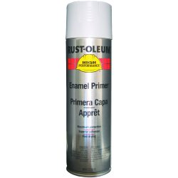 Rust-Oleum - V2182838 - Paint Primer Aerosol Gray Rust-oleum Hard Hat 15 Square Feet Coverage Volatile Organic Compound, Ea