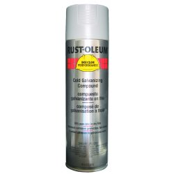 Rust-Oleum - V2185838 - Rust Preventative Spray Paint in Metallic Galvanized for Metal, Steel, 20 oz.