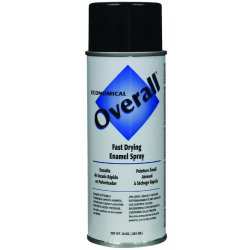 Rust-Oleum - V2402830 - 830 10-oz Gloss Black Overall Industrial