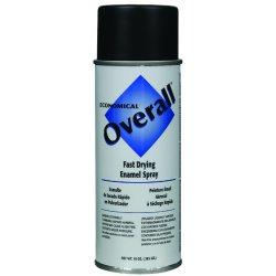 Rust-Oleum - V2404830 - 830 10-oz Flat Black Overall Industrial