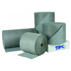 Brady - HT303 - Medium, Polypropylene Absorbent Roll, Fluids Absorbed: Universal, 300 ft. Length