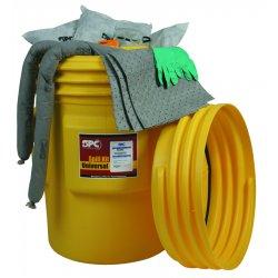 Brady - SKA-95 - Brady 95 gal Drum AllWik Yellow Polypropylene Spill Kit, ( Each )