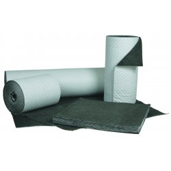 Brady - TM58 - Heavy, Polypropylene Absorbent Roll, Fluids Absorbed: Oil-Based Liquids, 80 ft. Length