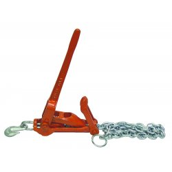 "J.E. Shaffer - HEAVYDUTY - 7/16"" Comealong W/6'chain & 60"" Travel, Ea"