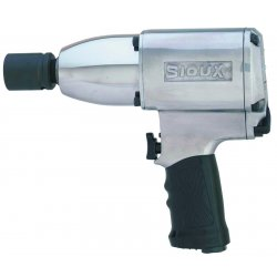 Sioux Tools - 5075A - Sioux 3/4' Aluminum Comfort Grip Air Impact Wrench With Friction Ring And Steel Anvil, ( Each )