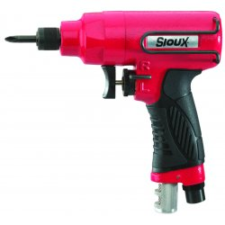 "Sioux Tools - IW38TBP2Q - Sioux 1/4"" Quick Change Chuck Pistol Grip Air Impact Driver With Steel Anvil"