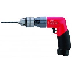 "Sioux Tools - SDR10P26N4 - Sioux 1/2"" Keyed Chuck 1 hp 2600 RPM Pistol Grip Non-Reversible Air Drill With 1/2"" - 20 Spindle Thread"
