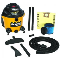 Shop-Vac - 9625210 - Economy Wet/Dry Vacuum, 16 gal, 120 V, Yellow/Black