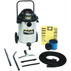 Shop-Vac - 962-56-10 - 15 Gal. 6.5 Peak Hp Ss Wet/dry Vac
