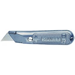 "Stanley / Black & Decker - 10-209 - Gray, Carbon Steel Utility Knife, 5-3/8"" Overall Length, Number of Blades Included: 3"