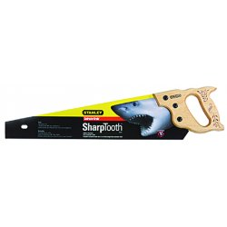 "Stanley / Black & Decker - 15087 - Stanley 20"" Blade Length x 9 Points Per Inch SharpTooth Heavy Duty Saw - Hardwood - Heavy Duty"