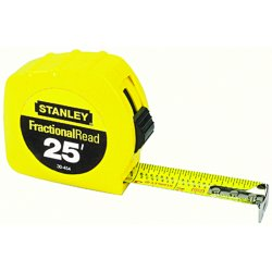 Stanley / Black & Decker - 30-454 - Steel 25 ft. SAE Tape Measure