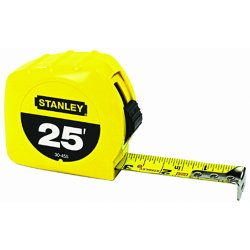 Stanley / Black & Decker - 30-495 - 16 ft. Steel SAE Tape Measure, Yellow