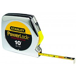 Stanley / Black & Decker - 33-115 - Stanley 33-115 10-Foot X 1/4-Inch High-Impact PowerLock Pocket Tape Rule