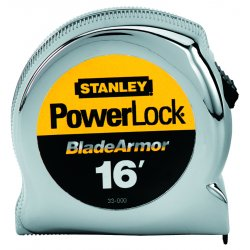 Stanley / Black & Decker - 33-516 - 16 ft. Steel SAE Tape Measure, Black/Yellow