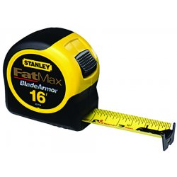 Stanley / Black & Decker - 33-716 - Stanley 33-716 Stanley 16' x 1-1/4'' FatMax Tape Rule with Blade Armor