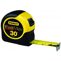 Stanley / Black & Decker - 33-735 - 35 ft. Steel SAE Tape Measure, Black/Yellow