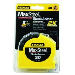 Stanley / Black & Decker - 33-800 - MaxSteel Tape Rules w/BladeArmor (Each)