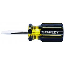 Stanley / Black & Decker - 66-161 - Screwdriver, Slotted, 1/4x1-1/2 In, Round