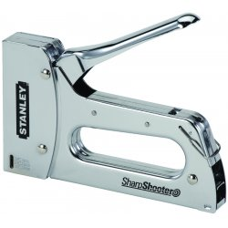 "Stanley / Black & Decker - TR110 - 7"" Heavy Duty Staple Gun, Chrome"