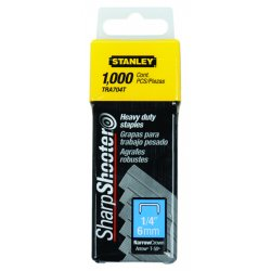 Stanley / Black & Decker - TRA704T - 1/4' Heavy Duty Staples 1000/pkg Stanley