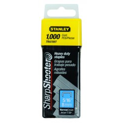 Stanley / Black & Decker - TRA705T - Heavy Duty Narrow Crown Staples 5/16 In. to 1, 000 Pack