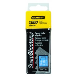 Stanley / Black & Decker - TRA709T - Narrow Staples, 7/16x9/16, PK1000