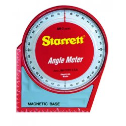 "L.S. Starrett - 36080 - Am-2 Angle Meter 5""x5""magnetic Base And Back, Ea"