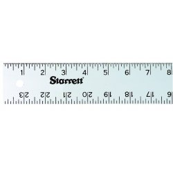 "L.S. Starrett - 36094 - Ase-72 72"" Aluminum Straight Edge Rule, Ea"