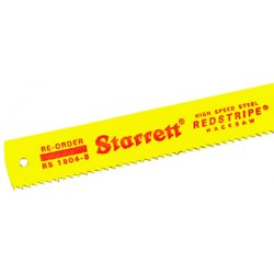 "L.S. Starrett - 40064 - Rs1806-6 18"" Hack Saw Blade 1-1/4""x18""x.006, Ea"