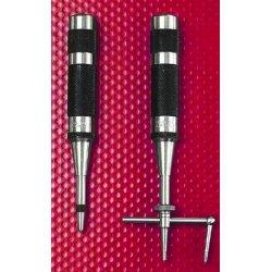 "L.S. Starrett - 50119 - 18aa 4"" Automatic Centerpunch 7/16"" Diameter, Ea"