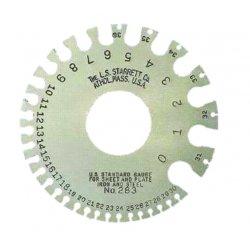 L.S. Starrett - 51318 - 283 U.s. Standard Gage N, Ea