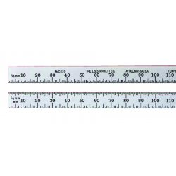 L.S. Starrett - 51329 - Steel Rules, Millimeter Graduations
