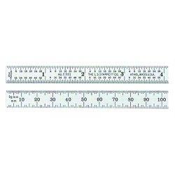 L.S. Starrett - 51331 - Steel Rules, Millimeter & Inch Graduations