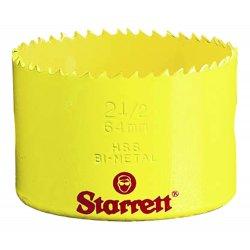 L.S. Starrett - 61003 - Bi-Metal Constant Pitch Sheet Metal Hole Saws (Each)