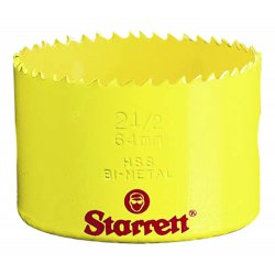L.S. Starrett - 61008 - Bi-Metal Constant Pitch Sheet Metal Hole Saws (Each)