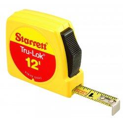 """L.S. Starrett - 65943 - Y12-12 1/2""""x12' """"tru-lok, Ea"""