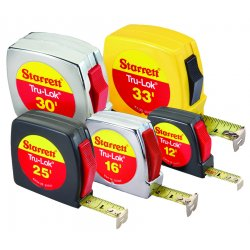 L.S. Starrett - 66168 - Tru-Lok Measuring Tapes (Each)